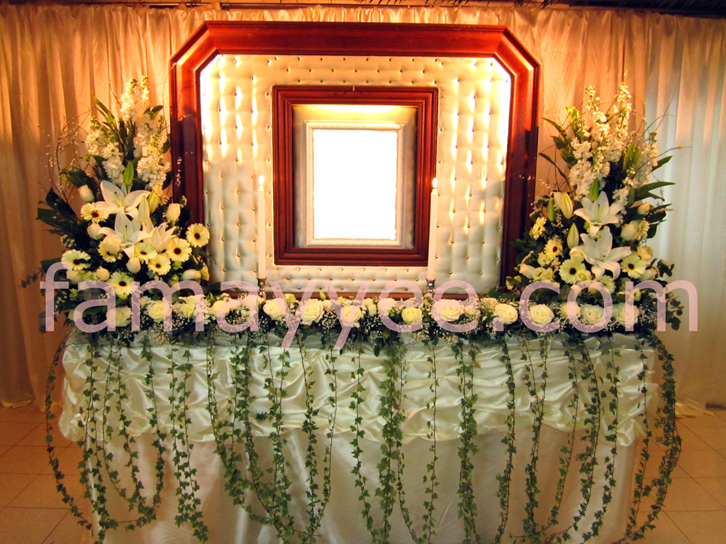 Fa may yee funeral chapel decoration for Decoration photos